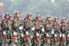 歩兵連隊の代表団