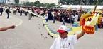 Sáng 6/10, Liên hoan nghệ thuật diều Hà Nội đã diễn ra tại Mỹ Đình (Hà Nội).