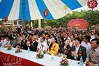 Rất đông quan khách đã đến dự buổi lễ khai mạc Triển lãm.