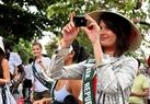 Hoa hậu Slovak không quên ghi lại những hình ảnh đẹp về phố cổ Hội An.