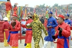 Ong Ho (el Tigre) en la Fiesta de Giong.