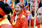 Phu Dong villagers are happy at news of St. Giong Festival being recognized as an Intangible Cultural Heritage of Humanity.