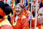 Người dân xã Phù Đổng rất phấn khởi khi Hội Gióng là di sản văn hóa phi vật thể của nhân loại.