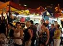 Chợ đêm Bến Thành là một điểm du lịch của TP.HCM thu hút rất đông du khách nước ngoài.