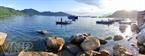 Bến Vũng Rô (Phú Yên), một trong 7 điểm dừng chân trong chuyến hành trình dài hơn 1.500 hải lí.