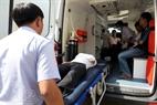 Những nạn nhân bị thương nặng sẽ được chuyển ngay đến bệnh viện.