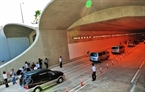 Thu Thiem Tunnel officially opens to traffic.