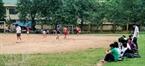 Một góc sân bóng Nghĩa Tân