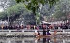 Biểu diễn Quan họ Bắc Ninh ngay ở giếng làng La Phù.