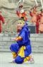 Biểu diễn võ thuật của võ phái Thiên Môn Đạo.