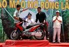 Anh Bùi Quang Hiệp (Hà Nội) đã giành được giải nhất cuộc thi với trị giá là một chiếc xe máy.