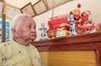 Bà Nguyễn Thị Tha, 96 tuổi, hiện là mẹ Việt Nam Anh Hùng cao tuổi nhất tại Trung tâm chăm sóc người có công với cách mạng Đà Nẵng.