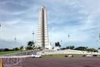 Plaza de la Revolución, donde se encuentra el Memorial José Martí.