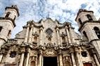 Iglesia en La Habana Vieja, con características únicas de la arquitectura barroca, construida en 1763.