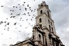 Khung cảnh yên bình trong khu phố cổ La Habana.