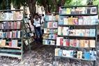 Una librería vieja en La Habana Vieja.