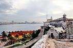 Muralla antigua de La Habana fue construida hace unos 400 años.
