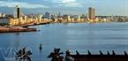 La Habana trong ánh nắng chiều (nhìn từ pháo đài trên thành cổ).