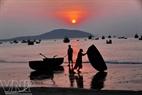 Sunrise on Bai Ngang, Mui Ne.