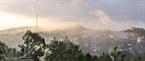 Thị xã Gia Nghĩa trong màn sương sớm.