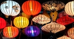 Lanterns in Hoi An are diverse in style.