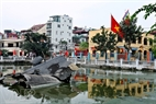 "At night of December 27, 1972, a B.52 bomber was shot down by the Vietnamese Air Defence and dropped in Huu Tiep Lake in Ngoc Ha Village, Hanoi. For 40 years, the wreckage of the bomber has existed as an evident of the ""Hanoi-Dien Bien Phu in the Air"" battle."