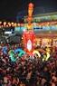 Hoa đăng nghệ thuật lộng lẫy trong đêm hội Nguyên Tiêu. Ảnh: Nguyễn Luân