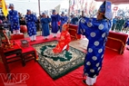 On January 12-13 of the lunar calendar, people in Hien Quan organize a Phet-playing festival. Photo: Viet Cuong
