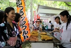 The festival provides a chance for cuisine exchange between Vietnam and Japan.