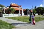La casa monumento del Presidente Ho Chi Minh en la isla del Gran Truong Sa.