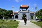 La pagode de Truong Sa.