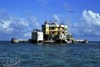 L'île submergée de Cô Lin.