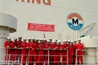 On February 10, 2012 the Vietnam Modec Company holds the anniversary of 2000 days of LTI Free FSO MV12 in Rong Doi Oil Field.