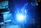 Welding - one of the stages in safe manufacturing.