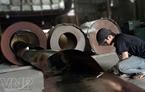 Corte de acero para la fabricación de cajas fuertes.