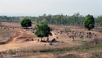 The Plain of Jars is located in Xieng Khuang Province, Laos.