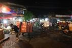 通往龙边夜集市之路。