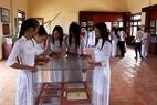 Students visit Bac Hai Museum.