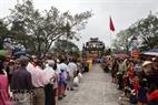 每年农历3月23日,丽蜜村13个寨居民又来到村祠亭进香悼念村城隍。