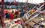 Торжественная ритуальная часть обряда моления об упокоении с миром погибших героев, и моления за то, чтобы уберечь от всех опасностей солдат, вновь отправляющихся на защиту островов Хоангша.