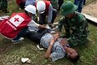Các lực lượng cứu hộ chuyên nghiệp cơ động đến vùng xảy ra thiên tai để phối hợp với các lực lượng tại chỗ sơ cứu nạn nhân bị thảm họa.