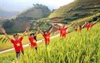 Địa danh Mùa Cang Chải giờ đã trở thành điểm đến của nhiều du khách, nhất là các bạn trẻ thích khám phá vào thời điểm mùa lúa chín từ giữa tháng 9 hằng năm.