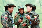 Female shooters from Brunei and Myanmar at AARM – 24.