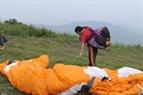 Данг Тхань Чунг самостоятельно проверил свой парашют