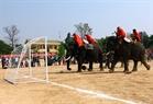 Elephant Kham Ngoac scores a goal.