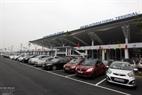 内排国际机场T2航站楼停车场。