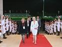 Các đại biểu đến dự Lễ khai mạc tại Nhà Quốc hội. Ảnh: TTXVN