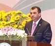 Chủ tịch Liên minh Nghị viện Thế giới Saber Chowdhury phát biểu. Ảnh: TTXVN