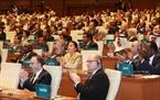 Hơn 1600 đại biểu đã tham dự Lễ khai mạc. Ảnh: TTXVN
