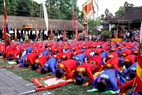 A rite is held solembly in Quan Gia.